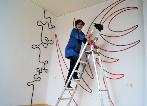 Doris Fend öffnet für die VN-Heimat die Türen und erzählt von ihrem künstlerischen Schaffen.Ritter