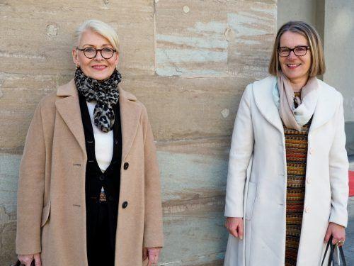 Doris Moritz-Gunz und Christa Strobl (Personalmanagement Raiffeisenbank).