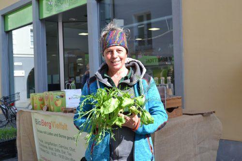 Dorothea Rauch legt großen Wert auf einen schonenden Umgang mit der Umwelt und den von ihnen produzierten Lebensmitteln.BI
