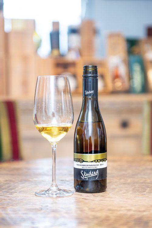 Ein beeindruckender Dessertwein vom Weingut Studeny.Beate Rhomberg
