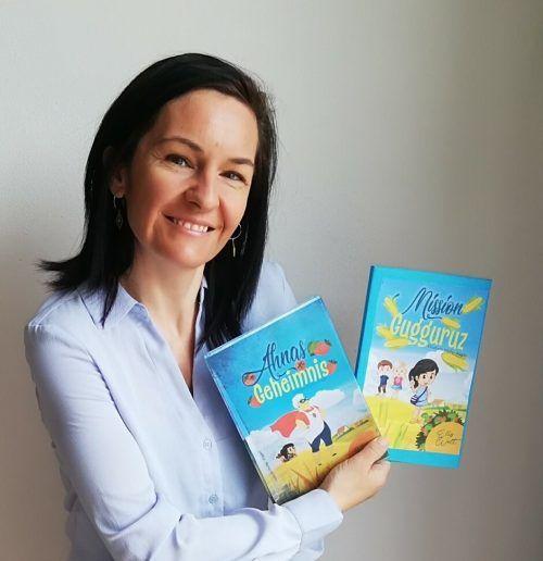 Elisabeth Pfeifer-Pögler hat zwei Kinderbücher geschrieben: Ahnas Geheimnis und Mission Gugguruz.