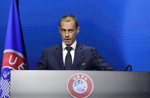 EM-Spiele ohne Fans: Für UEFA-Präsident Aleksander Ceferin durchaus möglich.Ap
