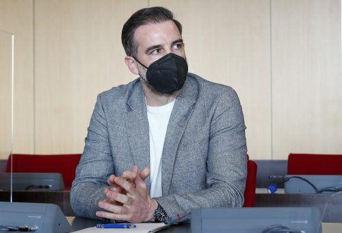 Ex-DFB-Nationalspieler Christoph Metzelder während der Verhandlung.ap