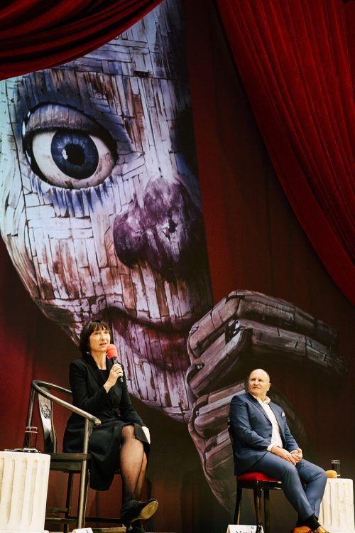 Festspiel-Intendantin Elisabeth Sobotka und Präsident Hans-Peter Metzler gehen davon aus, dass nach der Absage im Jahr 2020 heuer alles gutgeht. BF/köhler