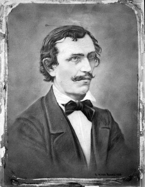 Franz Michael Felder war Dichter und Sozialreformer.Felder-Archiv
