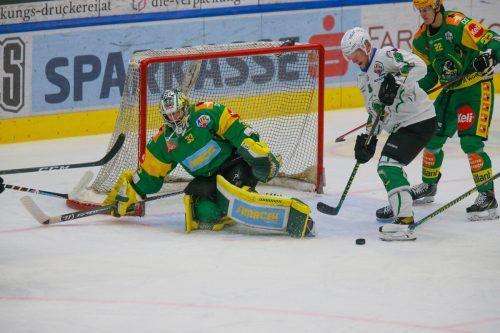 Für Lukas Reihs und seine Lustenauer Kollegen ging gegen Olimpija Laibach eine fünf Spiele dauernde Siegserie zu Ende.Hartinger