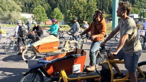 Geändertes Mobilitätsverhalten: Immer mehr entdecken das Fahrrad als optimales und umweltfreundliches Verkehrsmittel. VOL.AT/Mayer