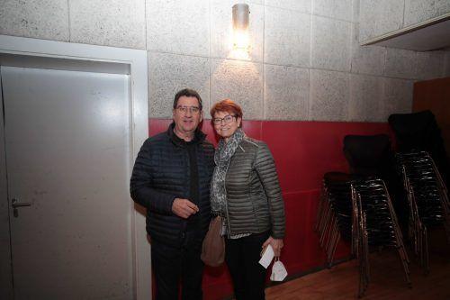 Gemeinderat Helmut Jenny und Waltraud.