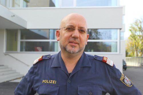 Gerhard Bargetz ist Präventionsbeamter der Polizei. VN/HB