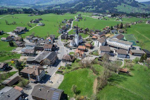 Gestern gab es in der Bregenzerwälder Gemeinde Lingenau 21 positive Coronafälle. Die 7-Tages-Inzidenz kletterte auf 1172,6.VN/Hartinger