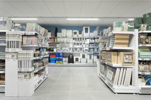 Großzügige Shopgestaltung und interessantes Sortiment zeichnen Action aus.FA