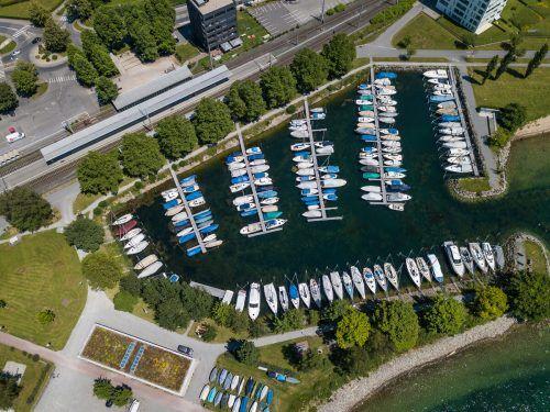 Hafenplätze sind laut dem ISK ein Beispiel für die Gentrifizierung am Bodensee. Sie stehen oft nicht der Allgemeinheit zur Verfügung. VN/Steurer
