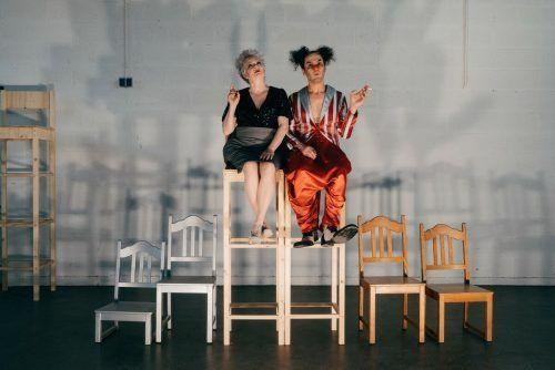Das neue Stück des Walktanztheaters ist eine Mischung aus Schauspiel, Tanz und Musik. Sarah Mistura