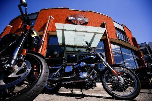 Harley-Davidson-Motorräder werden in der EU ab Juni empfindlich teurer. Reuters
