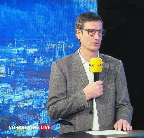 """Herbert Österle stellte sich in """"Vorarlberg live"""" vor."""