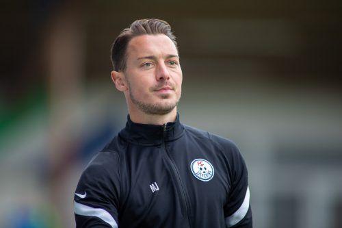 Heute coacht Matthias Jaissle noch den FC Liefering gegen FC Dornbirn.gepa