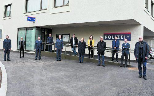 Im kleinen Rahmen wurde in Dornbirn der Schlüssel für die neue Polizeiinspektion am Bahnhof übergeben. STADT DORNBIRN