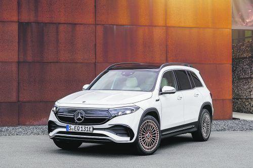 Im Laufe des Jahres schickt Mercedes den EQB auf die Straßen.werk