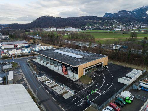 Im März 2020 hat das Altstoffsammelzentrum Vorderland eröffnet. Seither haben dort rund 40.000 Kunden insgesamt über 1000 Tonnen Müll entsorgt.VN/Steurer