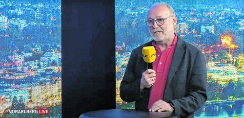 """Impfkoordinator Robert Spiegel appelliert bei """"Vorarlberg Live"""": """"Bitte meldet euch zur Impfung an. Wir sitzen alle im gleichen Boot."""""""