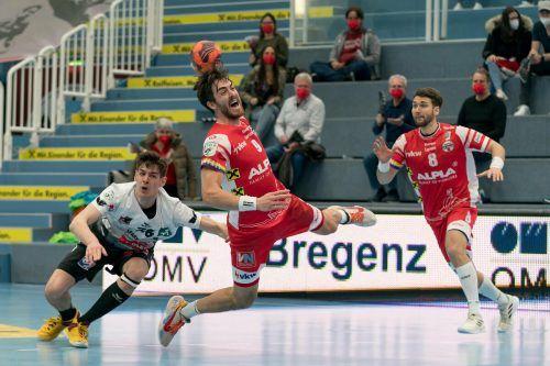 In den zehn HLA-Saisonen hat Boris Zivkovic bislang 718 Tore für den Alpla HC Hard geworfen.VN/DS
