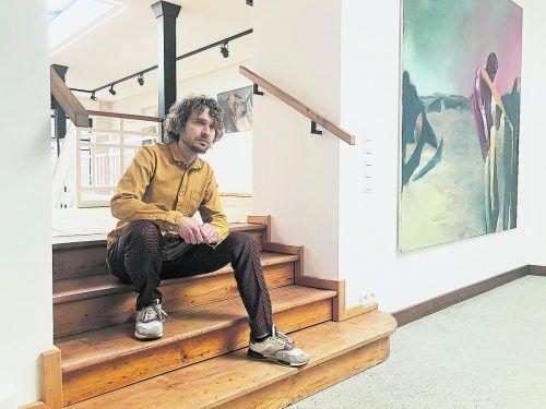 In der Galerie 9und20 sind mehr als zwei Dutzend Werke von Lorenz Helfer zu sehen.VN/HF