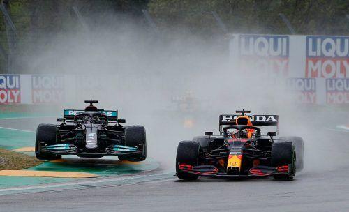 In Portimao steigt am Sonntag die dritte Runde im Formel-1-WM-Duell zwischen Mercedes-Champion Lewis Hamilton gegen Red-Bull-Star Max Verstappen.Reuters