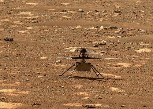 """""""Ingenuity"""" soll den ersten Flug auf einem anderen Planeten absolvieren. AFP"""
