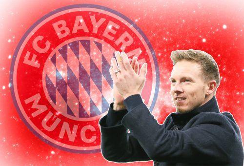 Julian Nagelsmann erfüllt sich mit dem Trainerjob beim FC Bayern München im Sommer einen großen Traum.gepa