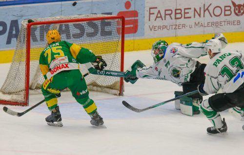 Kapitän Max Wilfan und seine EHC-Kollegen müssen sich im Halbfinale mit dem Team von Olimpija Laibach messen. Hartinger