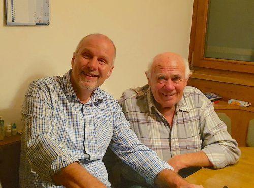 Karl Ennemoser erzählte Dieter Nußbaumer Episoden aus seinem bewegten Leben. me