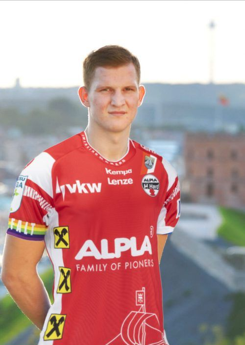 Karolis Antanavicius verstärkt kommende Saison den Alpla HC Hard.Verein