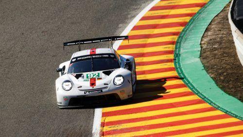 Kevin Estre teilt sich den Werksporsche in Spa mit Ex-Formel-1-Pilot Neel Jani.Porscher/MN