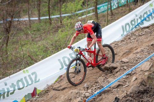 Kilian Feurstein vom RV Dornbirn holte in Südtirol wichtige UCI-Punkte.Verein