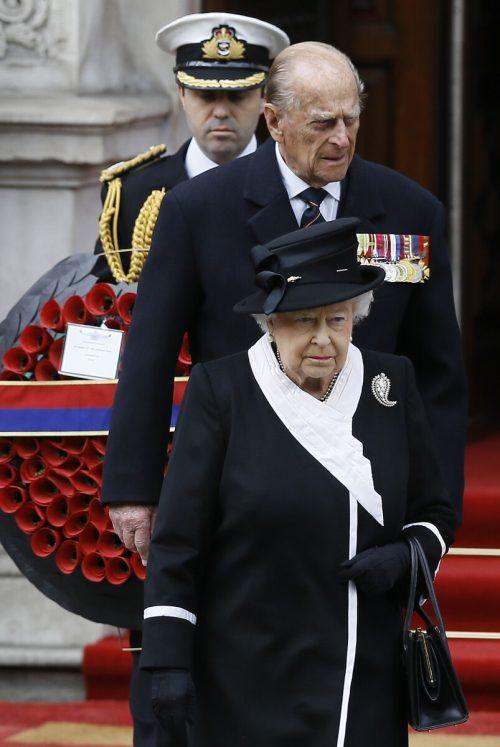 Königin Elizabeth und Prinz Philip waren 73 Jahre verheiratet. AP
