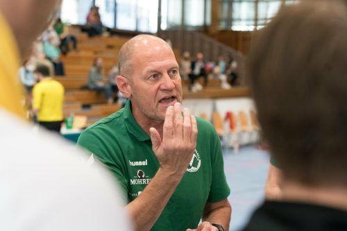 Kreisläufer Marko Coric war mit sieben Toren erfolgreichster Bregenzer Werfer beim klaren Heimerfolg.VN/DS