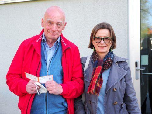 Kulturamtsleiter Harald F. Petermichl und Regisseurin Barbara Herold.