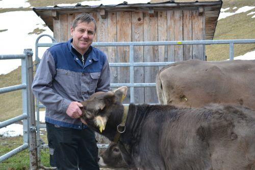 Kurt Stark ist ein schonender Umgang mit Tieren und Böden sehr wichtig.BI