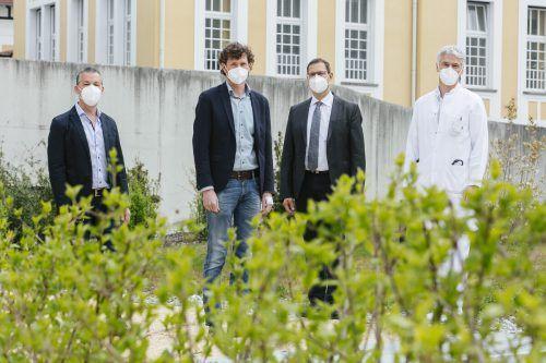 Landeskrankenhaus-Verwaltungsdirektor Andreas Lauterer übernimmt die Leitung in Hohenems. Stadt
