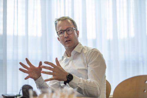 """Landesrat Christian Gantner: """"Für mich ist Tourismus mehr als nur Betten und mehr als Hotellerie und Gastronomie."""""""