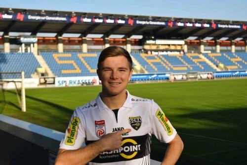 Lars Nussbaumer will sich in der Bundesliga etablieren.scra