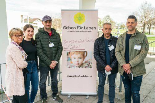 Lucias Familie zeigte sich von der Solidarität überwältigt.