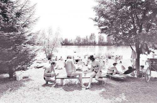 Lustenau, Alter Rhein, 1985