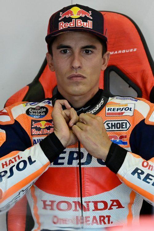 Marc Marquez feiert in Portugal sein Comeback in der MotoGP.AFP