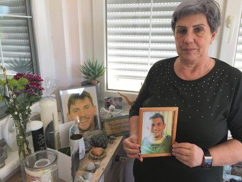 Melitta Berloffa musste den Tod ihres jüngsten Sohnes verkraften. Sebi wurde nur 21 Jahre alt.  kuster