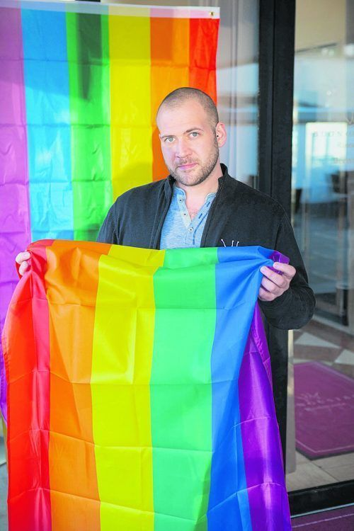 Michael Andreas Egger istObmann des LGBTIQ-Vereins Go West.VNT/Hartinger