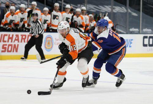 Michael Raffl und seine Philadelphia Flyers agieren aktuell in guter Form.apa