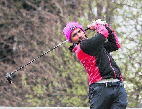 Michael Vonbank spielte in Haugschlag eine 69er-Runde. gepa