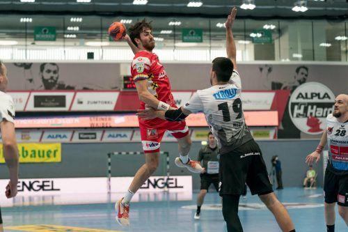 Mit sechs Toren stellte Boris Zivkovic seine Klasse eindrucksvoll unter Beweis. VN/DS