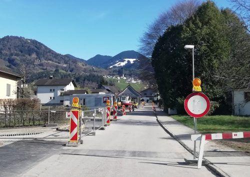 Die Sanierungsarbeiten am Röthner Kanalsystem sind derzeit voll im Gang und sollen bis zum Sommerende abgeschlossen sein. Mäser
